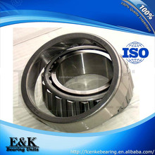 Textile machinery steel single row and double row pressed steel cage inch taper roller bearing 30310