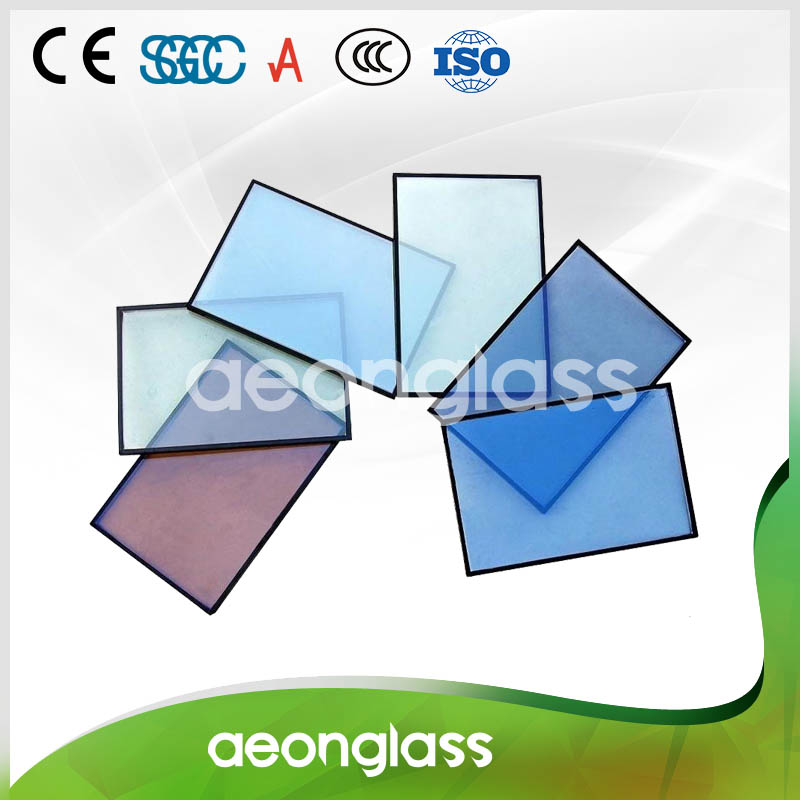 Clear/Tinted/Reflective/Tempered/Laminated/Argon/Low-E Price Insulated Low-e Glass Panels