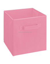New style nonwoven fabric folded storage boxes