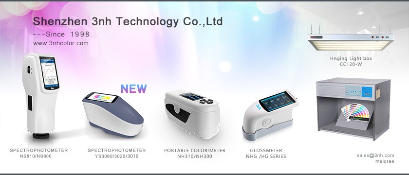 YS3060 d/8 SCI/SCE UV Hunter lab 400nm 700nm wavelength 8mm 4mm aperture color test spectrophotometer with bluetooth