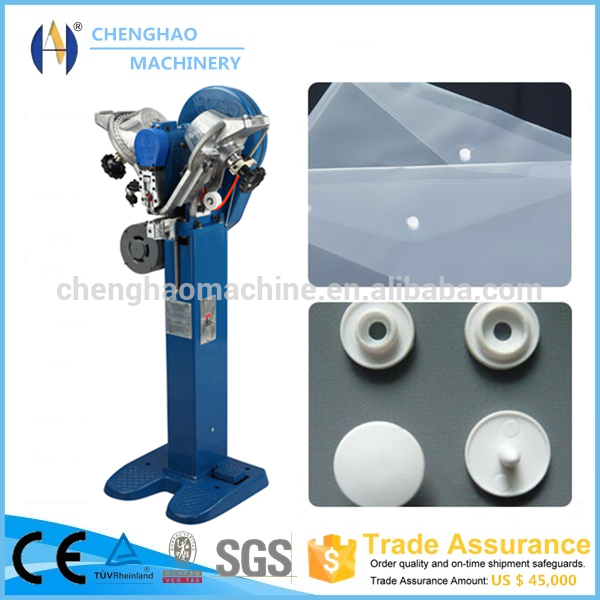 Fully Automatic Prong Snap Fastening Machine, Snap Fastening Machine