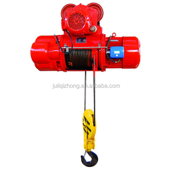 Wholesale new condition 230v CD1 wire rope crane scaffolding over head electric hoist