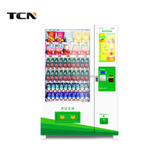 TCN automatic snack and drink vending machine with touch screen