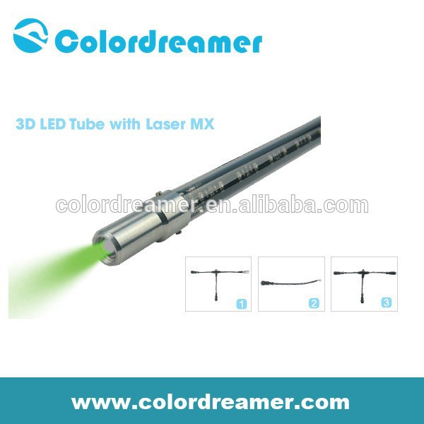 Colordreamer 3d laser tube for club decoration