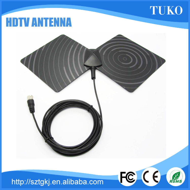 New design Amplified HDTV Antenna TV Indoor digital tv antenna