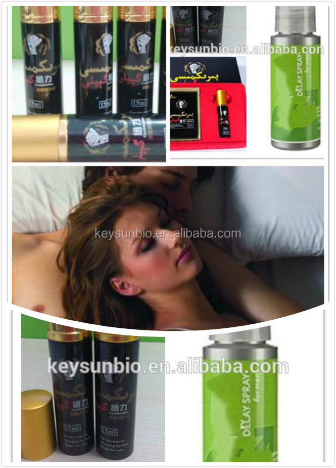 OEM Hot selling pure herb men delay sex time spray