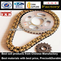 motorcycle chain and sprocket sets Chinese Brand, accessories motorcycle parts