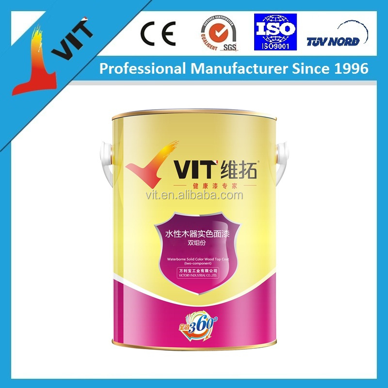 VIT S98 Wood product used acrylic polyurethane two component water based color coating top coat