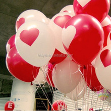 Red Heart Latex Balloons for Wedding SBR003