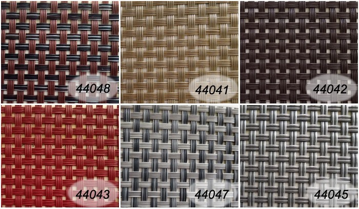 sample available custom color fabric for outdoor furniture vinyl fabric sale PVC fabric brown