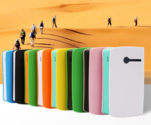 Advertising merchandising smartphone power bank 6000mah portable mobile power pack