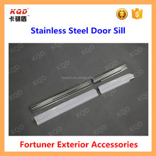 toyota fortuner accessories stainless steel door sill plate for toyota fortuner 2012~2015 fortuner car door sill