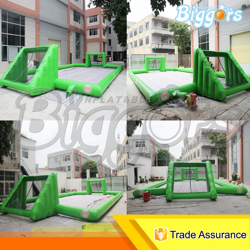 Outdoor Kids Sport Games Inflatable Soccer Football Pitch Field