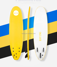 High quality bodyboard competitive price made in china long soft 6/7/8/9 feet surf board for outdoor water sport