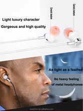 In Ear Earbud Headphones with Dual Drivers, High-fidelity Audio and Deep Bass, Wired Earphones with Controls for Hands-free Call