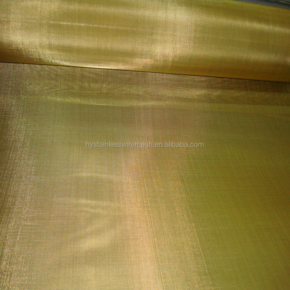 Wholesale good quality brass coper mesh for Electromagnetic Interference