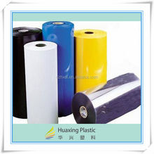 China Rigid clear Rigid PVC plastic sheet roll for thermoforming / vacuumformEcuadorving /blister pack