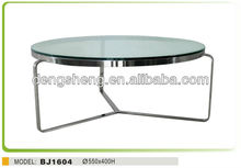 luxury coffee tables glass side table coffee table BJ1403 livingroom furniture