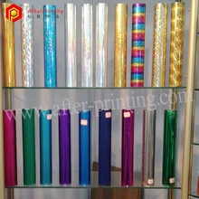 Colorful Hot Stamping Foil for Paper,Leather,Textile,Plastic and etc