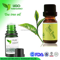 China suppliers free sample organic tea tree essential oil products