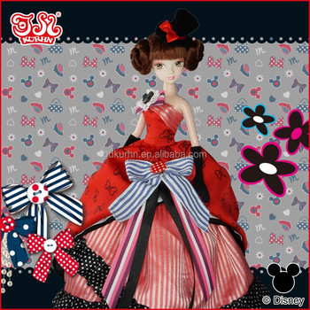 Fashion party dress doll Hollowen gift