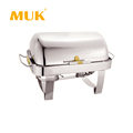 wholesale hotel restaurant buffet stainless steel luxury sliver chafing dish