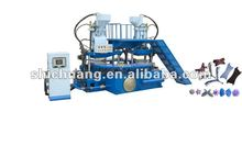 STRONG three color plastic upper/strap injection moulding machinery