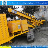 multifunctional all hydraulic top drive drilling rig used in Canada