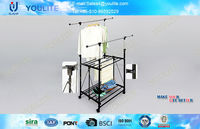 portable useful automatic clothes drying rack