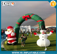 inflatable christmas snowman/snow man/holiday carton