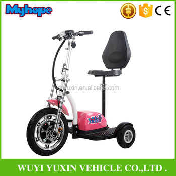 Zappy 500W48V three wheel electric scooter/Mobility Electric Scooter with CE/Rohs YXEB-712