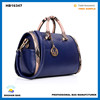 2016 european brand name PU leather hand bag brand name tote bag guangzhou high quality handbag