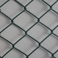 PVC coated 6.0kg/m2 weight chain link fence for tennis courts