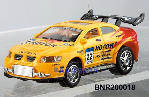 5 Channel 1:52 High Speed RC Racing Car with Lights BNR200018