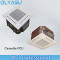 OlyAir Chilled water cassette ceiling fan coil unit, 4-way 2 tube Cassette type fan coil unit