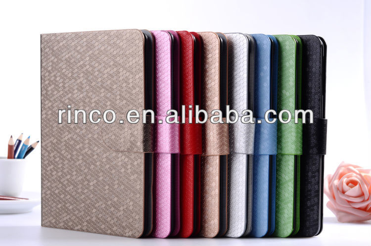 "Shine PU Leather Case Cover Skin For Apple Ipad MINI 7""tablet"