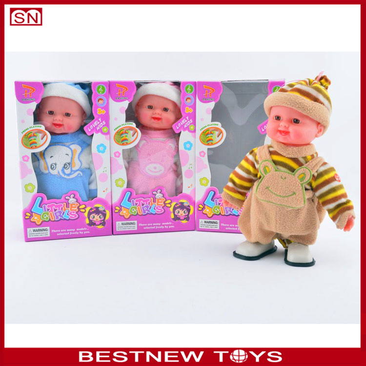 Musical doll vegetable doll fruit doll for wholesale