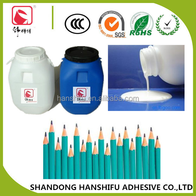 Professional manufacturer in China Water-based Polyvinyl Acetate Wood Adhesive PVA Glue for pencil adhesive