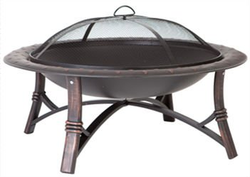 35 Inch Outdoor cooper Fire pit