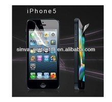 Hot sale anti-glare holographic screen protector for iphone5