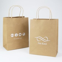 OEM Custom Printed Shopping Cheap Kraft Paper Bag with Own Logo
