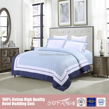 wholesale 3d polyester faboric embroidered what four piece Comfortable and soft hotelgbedding