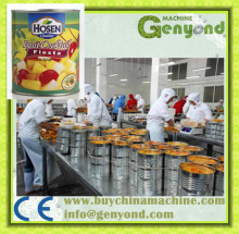 Canned Fruit Cocktail Processing Production Line