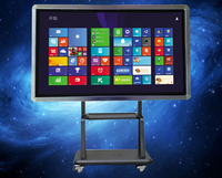 65 inch new version of big size LCD touchscreen with 10 point touching 1080P