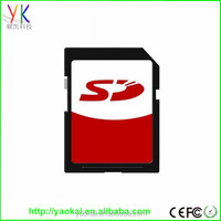 Factory Custom OEM Branding SD Memory Card with full 1GB 2GB 4GB 8GB 16GB 32GB