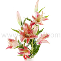Artificial PU artificial lily bouquets for weddings artificial lily flowers australia artificial lily arrangements