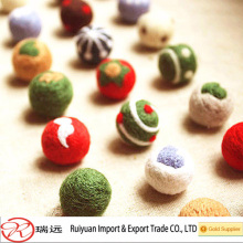Wholesale Fashionable Colorful Felt ball