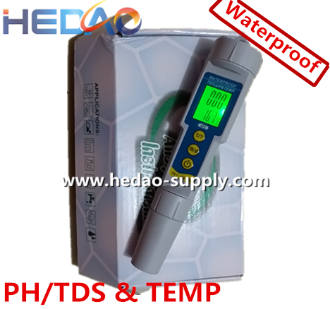 Pen type Waterproof PH/TDS & TEMP Meter