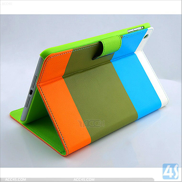 Leather Smart Cover Case for iPad Mini 2 3 4/iPadmini 2 3 4