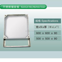 TOP Quality recessed manhole cover and frame and aluminum manhole cover